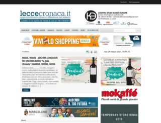 leccecronaca.it screenshot