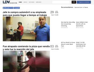 lecciondevida.com screenshot