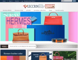 leccrins.com screenshot