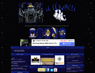 lecenacle.forum-actif.net screenshot