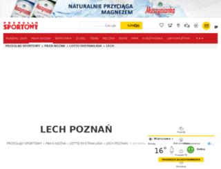 lech.przegladsportowy.pl screenshot