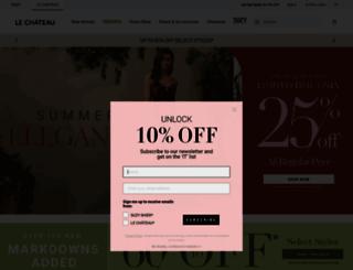 lechateau.com screenshot