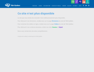 lecodechastenay.telequebec.tv screenshot