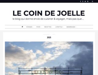 lecoindejoelle.com screenshot