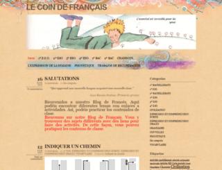 lecoinducervanties.wordpress.com screenshot