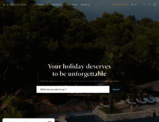 lecollectionist.com screenshot