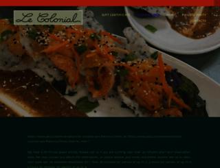 lecolonialsf.com screenshot