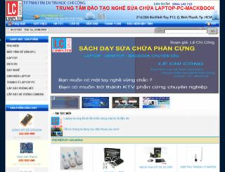 lecongpc.com screenshot