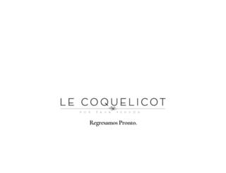 lecoquelicotblog.com screenshot