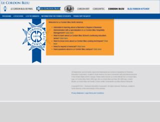 lecordonbleucollege-dallas.com screenshot