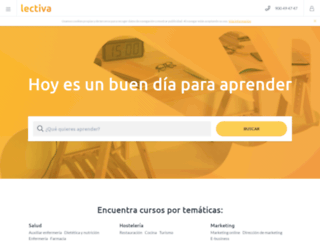 lectiva.net screenshot