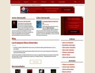lecturalia.com screenshot