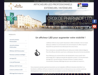 led-afficheurs.com screenshot