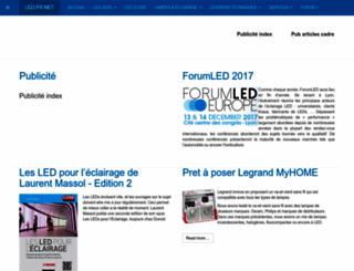 led-fr.net screenshot