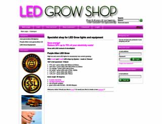 led-grow-shop.de screenshot