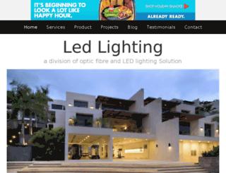 led-lighting.jigsy.com screenshot