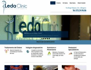 leda-clinic.com screenshot
