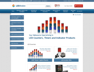 ledandon.mivamerchant.net screenshot
