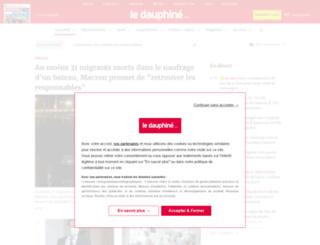 ledauphinelibere.com screenshot