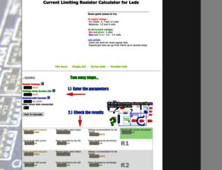 ledcalc.com screenshot