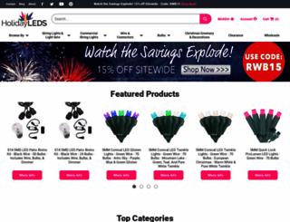 ledchristmaslights.com screenshot