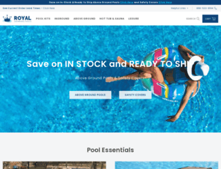 ledfordpools.com screenshot