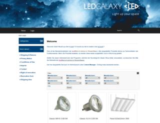 ledgalaxy.de screenshot