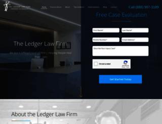 ledgerlaw.com screenshot