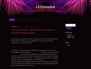 ledheaded.com screenshot