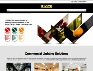 ledified.com.au screenshot