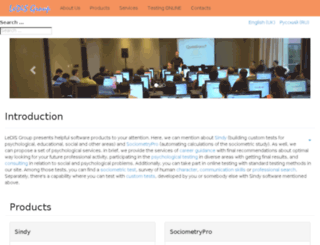 ledisgroup.com screenshot