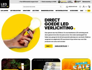 ledlampendirect.nl screenshot
