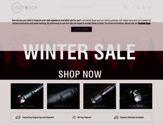 ledlenser-store.co.uk screenshot