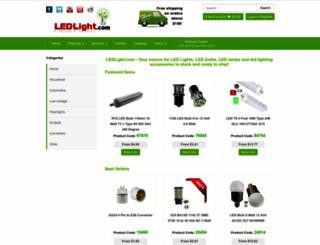 ledlight.com screenshot