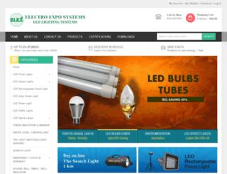 ledlightingsystems.in screenshot