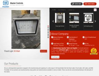 ledlightmanufacturer.in screenshot