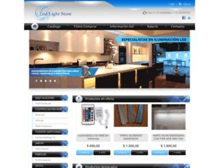 ledlightstore.com.ar screenshot