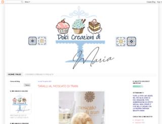 ledolcicreazionidimariablog.blogspot.it screenshot