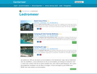 ledro-meer.com screenshot