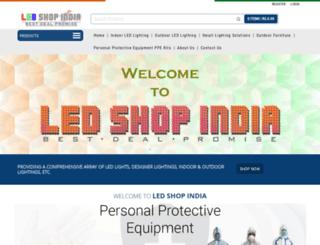 ledshopindia.com screenshot