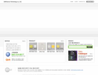 ledst.co.kr screenshot