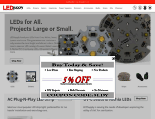 ledsupply.com screenshot