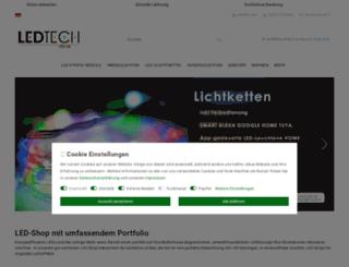 ledtech-shop.de screenshot