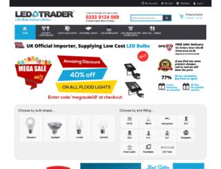 ledtrader.co.uk screenshot