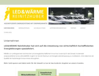 ledwaerme.at screenshot