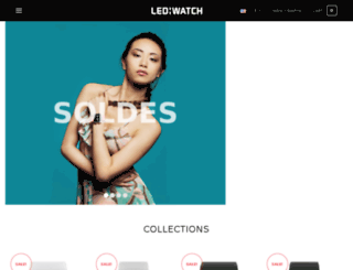 ledwatch.fr screenshot