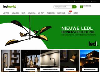 ledworld.nl screenshot