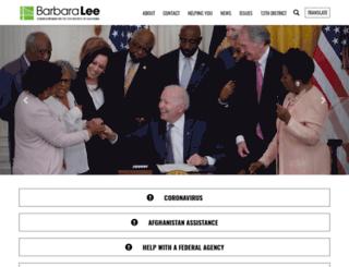 lee.house.gov screenshot