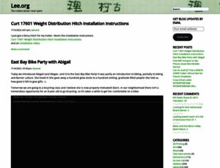 lee.org screenshot