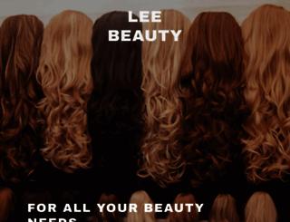 leebeauty.com screenshot
